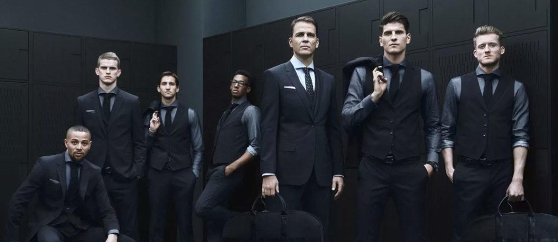 Hugo Boss в мире мужской моды