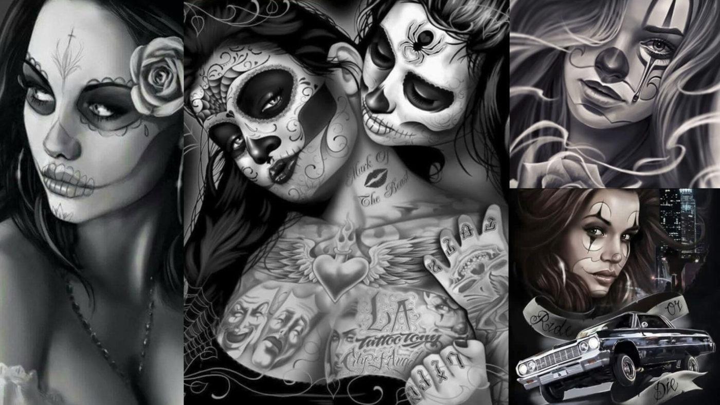 Пляска смерти или латиноамериканская сущность стиля «Чикано»