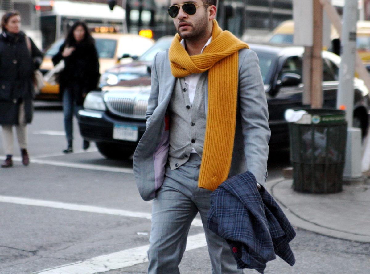 Основные способы завязывания шарфа для мужчин
