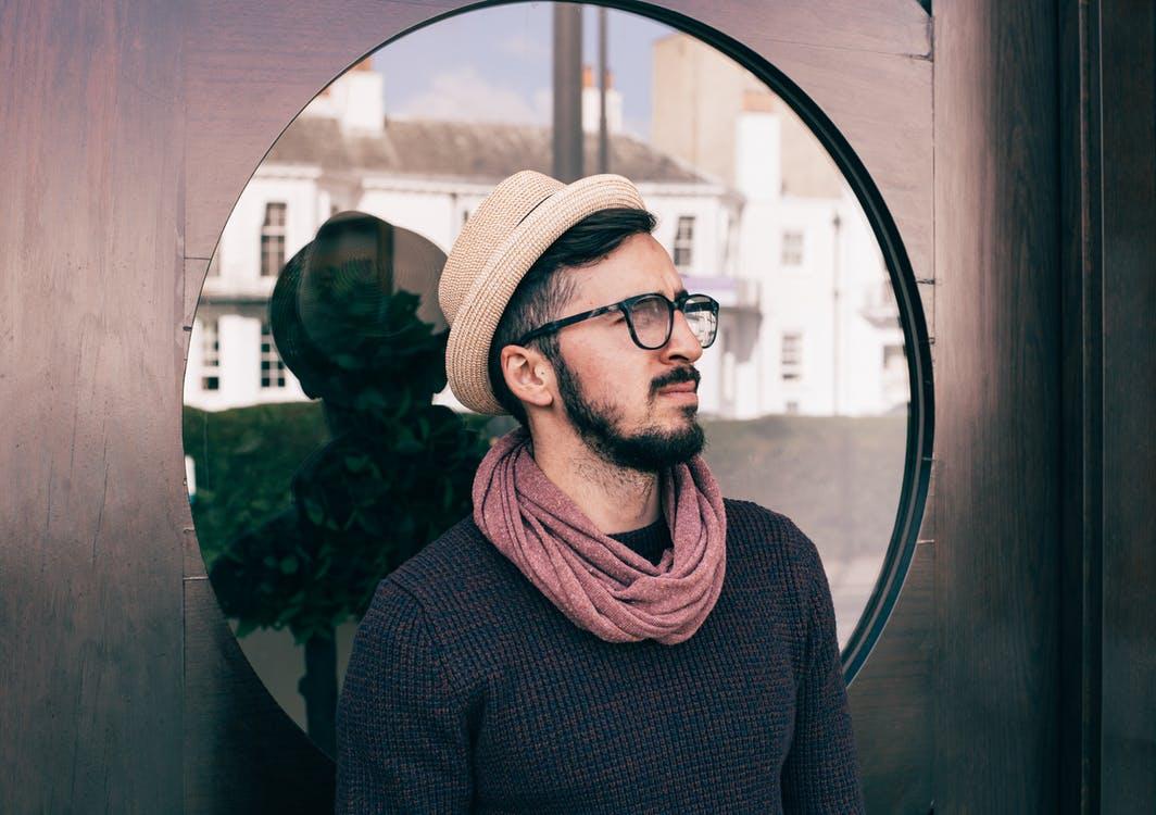 Мужской шарф — оригинальность и стиль