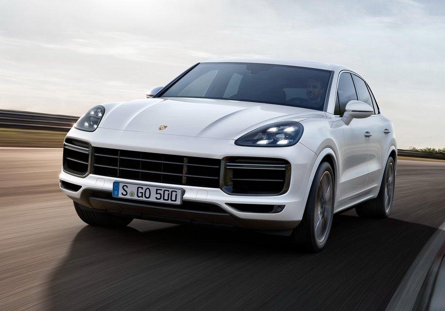 Купе на основе Porsche Cayenne, начнут продавать в 2019 году