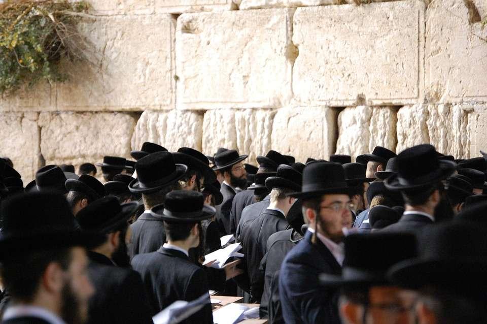 Стена плача. Иерусалим. Израиль