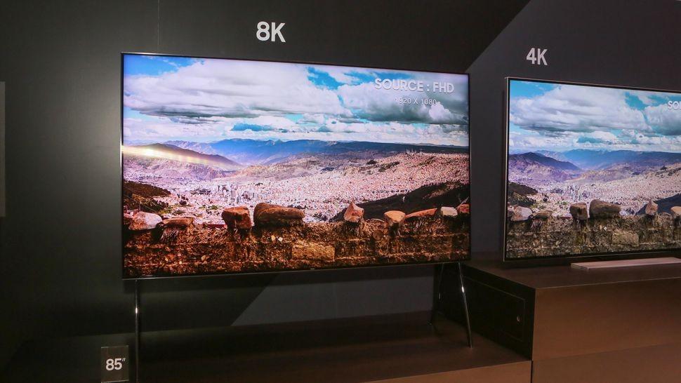 Сентябрьский старт продаж телевизоров нового поколения 8K от кампании «Samsung»