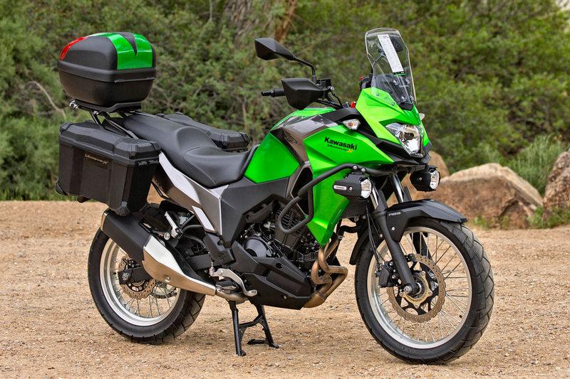 Обзор мотоцикла модели Kawasaki Versys-X 300