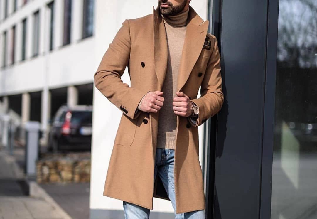 Верблюжье пальто: верхняя одежда для элегантных мужчин