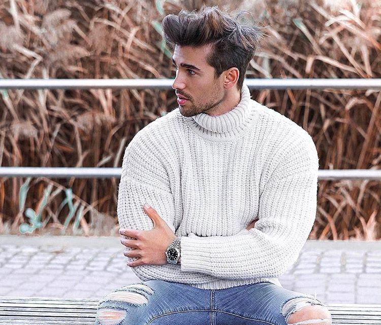 Мужской воротник-стойка: 6 стильных способов ношения