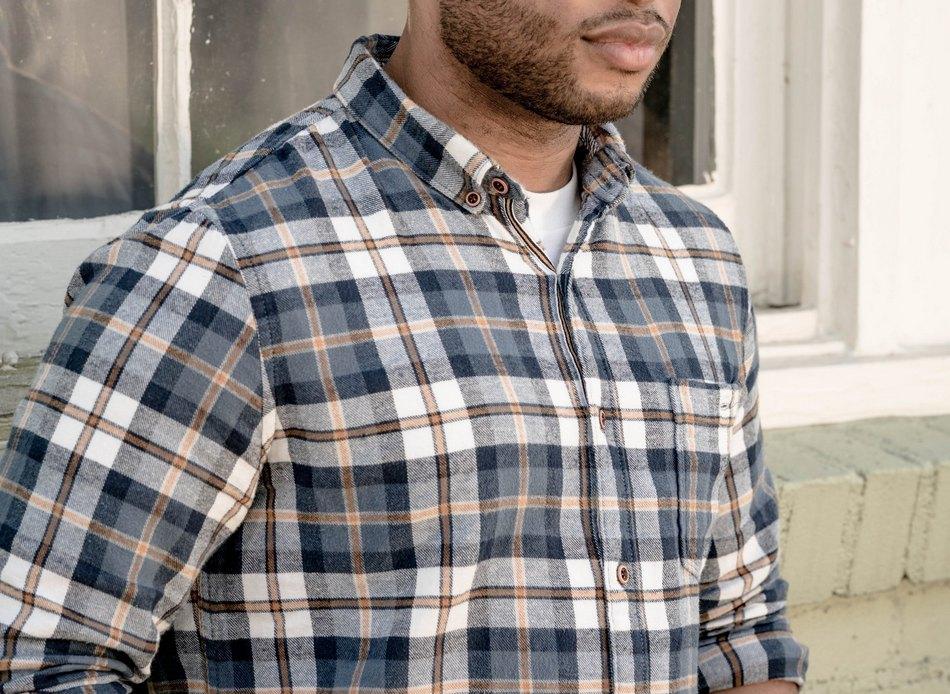 Мужские фланелевые рубашки 2019
